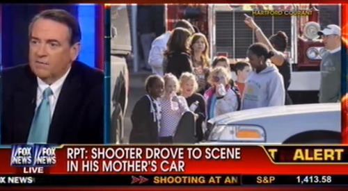 CAVUTO: How could God let this happen? HUCKABEE: Well, you know, it's an interesting thing. When we ask why there is violence in our schools, but we've systematically removed God from our schools. Should we be so surprised that schools have become a place for carnage because we've made it a place where we don't want to talk about eternity, life, responsibility, accountability? That we're not just going to have to be accountable to the police, if they catch us. But one day, we will stand in judgment before God. If we don't believe that, we don't fear that.  disgusting