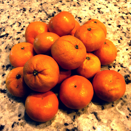 "I've only just spent an hour taking photos of oranges for a ""photo a day"" challenge"