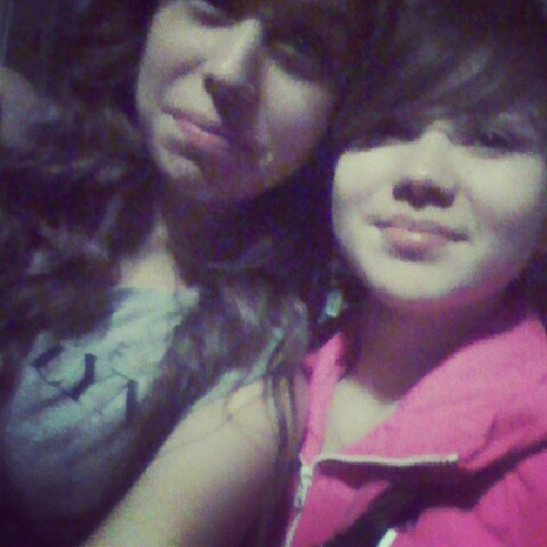 Me &' my amazingly beautiful aunt(: #Movies #fun #stress #worth #It #adorable #us