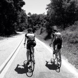 #climbing yesterday w/ old/new friends. #toc #tourofcalifornia #cycling  (at Wheatley Ranch)