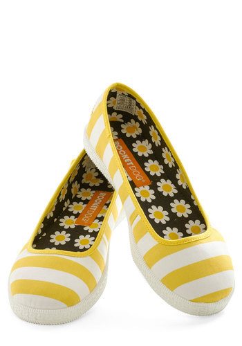 modcloth:  Shop the Casual and Effect Flat.