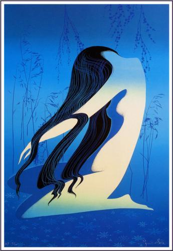 Moon Bath, Eyvind  Earle, 1998