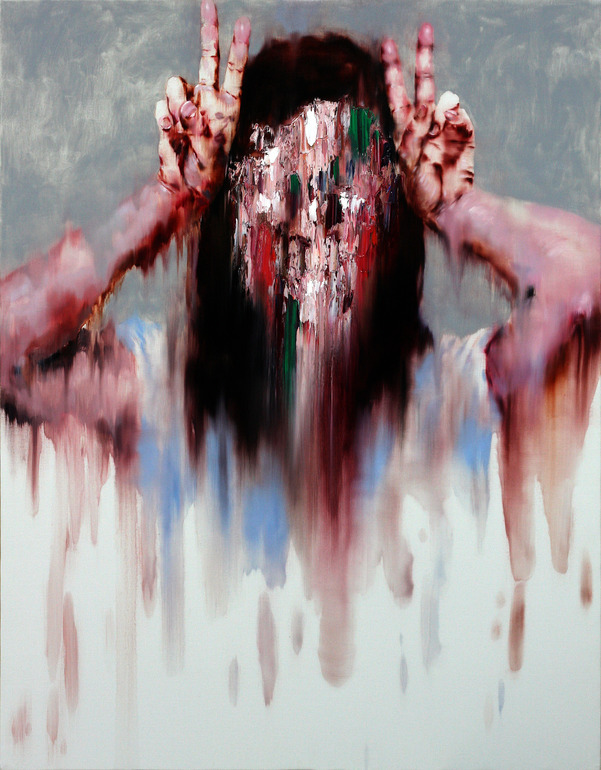 KwangHo Shin - Untitled. Oil on canvas, 116.5x90.5cm (2012)
