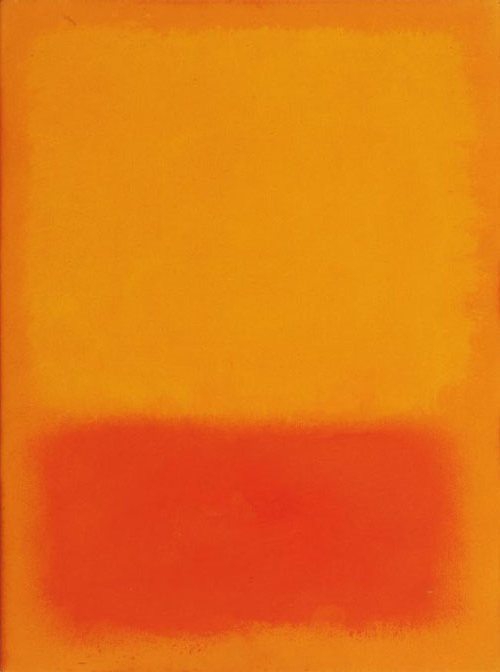 Untitled, 1968* by Mark Rothko Synthetic polymer paint on paper (wikipaintings)
