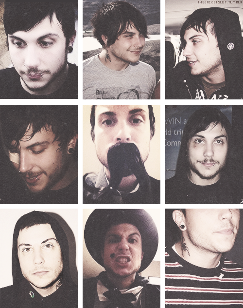 Frank with stubble for anon