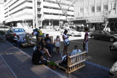 Janine Adank contributes a short photo essay on Park(ing) Day Joburg 2014,