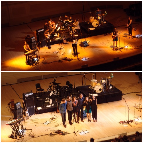 Dirty Projectors with yMusic at Carnegie Hall Friday night.