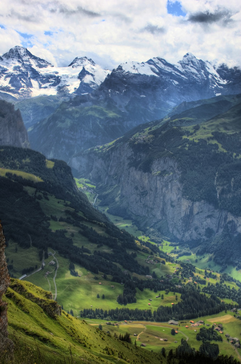 periderm:  Murren and valley view from Mannlichen (by Ed Coyle Photography)