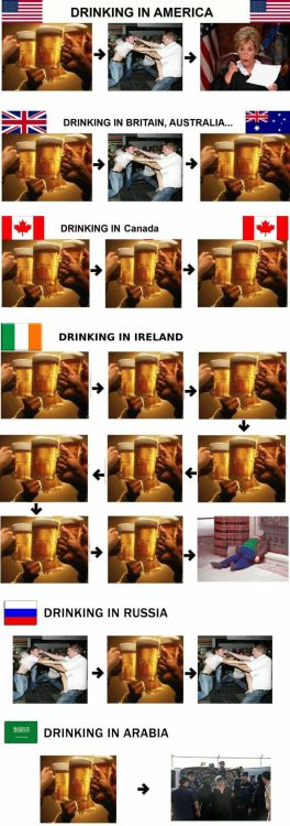 memehumor:  Alcohol Consumption In Different Countrieshttp://memehumor.tumblr.com