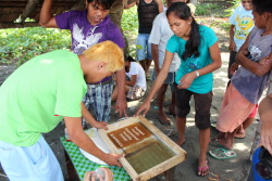 annegoddard:  In the Philippines, recovery continues from Typhoon Washi flooding that devastated communities in late 2011. ChildFund has invested in livelihood skills training for out-of-school youth. They are learning to print T-shirts and bags to raise money to help their families, or fund their return to school.