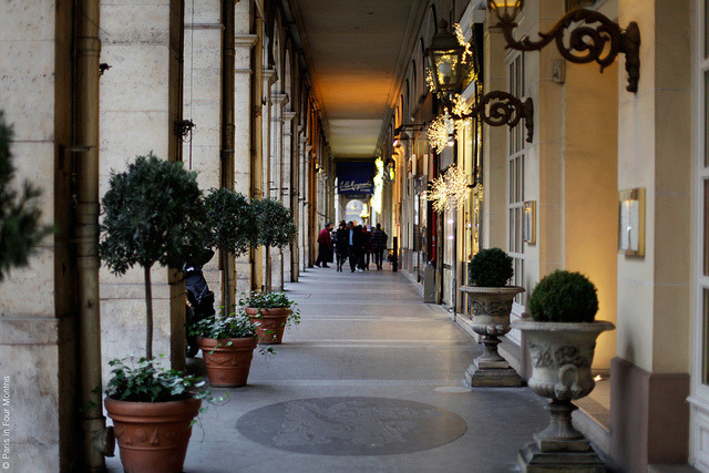 | ♕ |  Paris - passage at dusk  | by © Carin Olsson