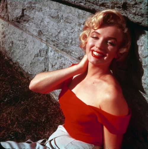 1953: Marilyn Monroe photographed by Jock Carroll