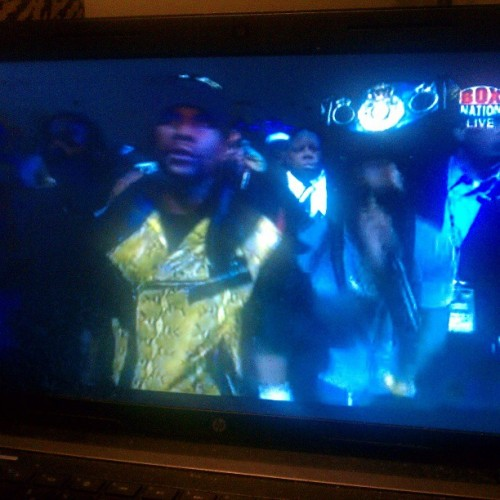 #Mayweather coming out with #Wayne performing #NoWorries