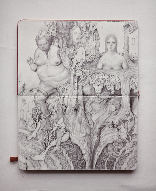 antondrawing:  sketchbook/pencil