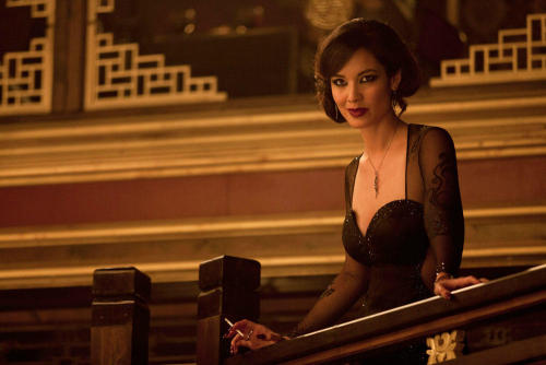 Berenice Marlohe received a starring role in the James Bondfilm Skyfall. However, her character is portrayed as only being used for sex. Marlohe's character has a conversation with Bond, and it is indicated that she is a victim of sexual assault and...
