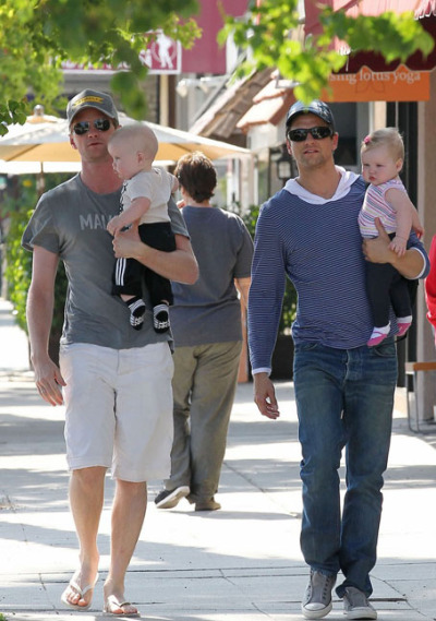 writtenforyoumydear:   Neil Patrick Harris & David Burtka a perfect Couple.