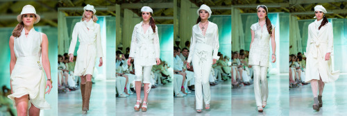 SNOW 2013 A White Fashion Event Designer: Julie Schindler