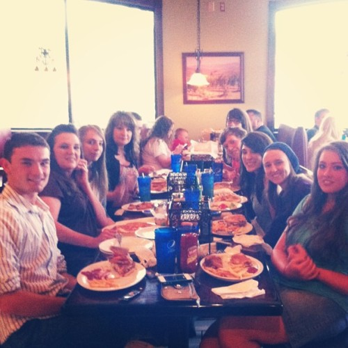 Family dinner after graduation! #family #food #fun #graduation