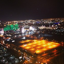 Roof top view! #vegas