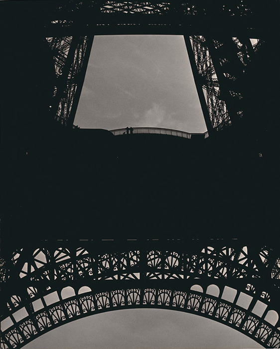 lostsplendor:  Tour Eiffel, Paris c. 1952 by Ilse Bing (via)