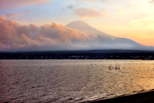 Trails can tug from afar… as those on Mount Fuji surely do.Photo: Meghan Hicks
