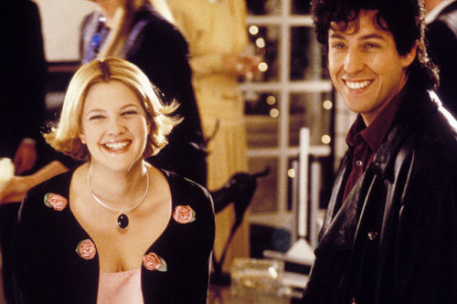Do Adam Sandler and Drew Barrymore have Rom-Com number THREE in the works?! http://bit.ly/11ZElM8