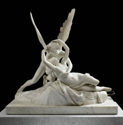 cavetocanvas:  Antonio Canova, Cupid and Psyche, 1786-93
