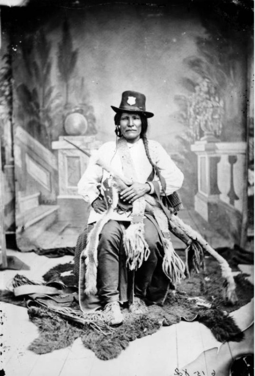 theroamer:   Apache Indian police, c. 1883-1886.