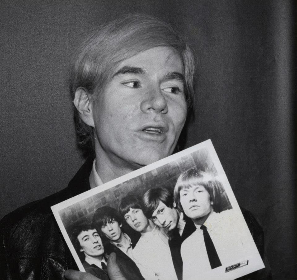 ROLLINGSTONIA: ANDY WARHOL & THE ROLLING STONES