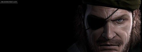 Metal Gear Solid 4 Facebook Cover