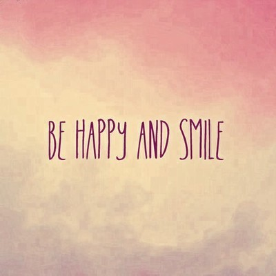 imzjane:  Be Happy | via Tumblr on @weheartit.com - http://whrt.it/12kZuvO