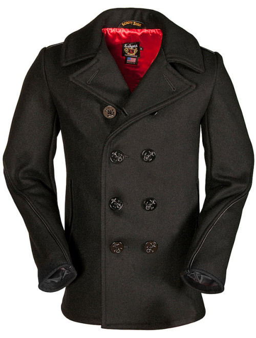 The Schott 740C Naval Peacoat.  This is the most beautiful peacoat I've ever seen.  Dying.  www.schottnyc.com