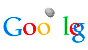 The Google Asteroid Collision Logo You Never Saw