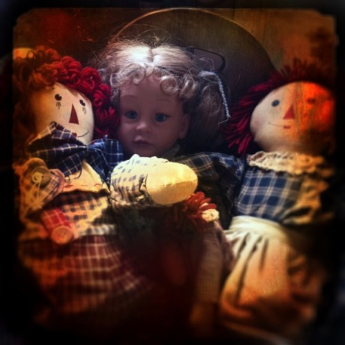 Scary baby doll is watching you ……..  #iphone #photo #scary #creepy #halloween #horror #horrorclub #antique #baby #doll #toy #dark #vintage #old #nightmare #spooky #pitt #pittsburgh #pa #pennsylvania #us #usa #america #fun #funny