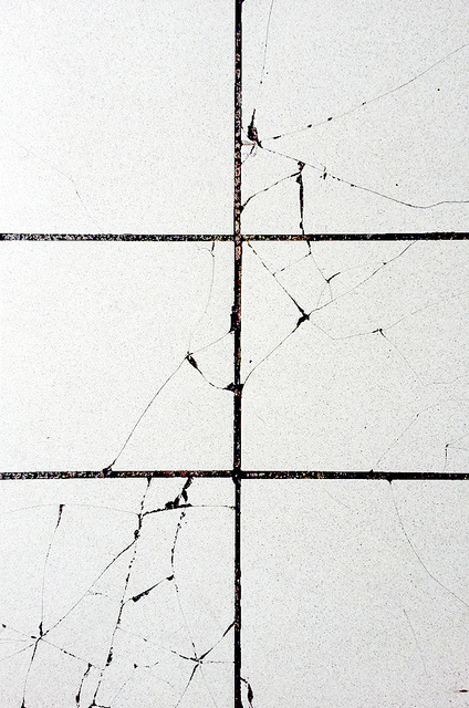 the-mighty-claire:  cracked tile by _ElijahPorter on Flickr.