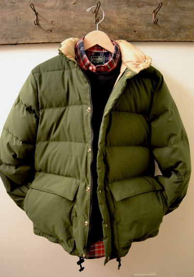 independencechicago:  Crescent Down Works 60/40 Classico Parka Velva Sheen Crew Neck Sweatshirt Gitman Bros. Vintage Hopsack Plaid Shirt
