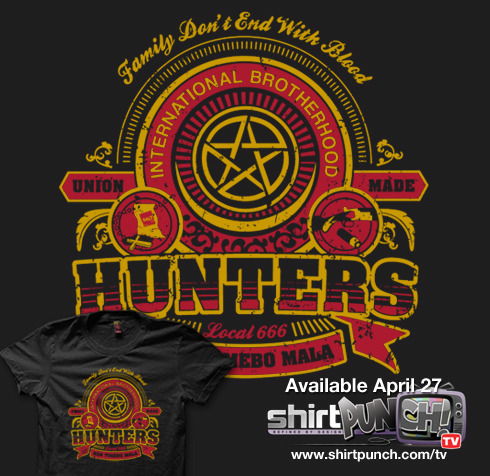 Hunters Union by frauholle $10 for 24 hours only at www.shirtpunch.com/tv