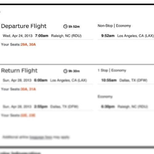 Plane tickets booked. King in Cali. 😏✈