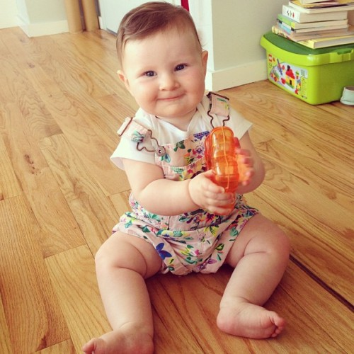 Every girl need a pair of Oshkosh floral short overalls. Right #mila_neve_ross ?? (at Furst Continental Congress)