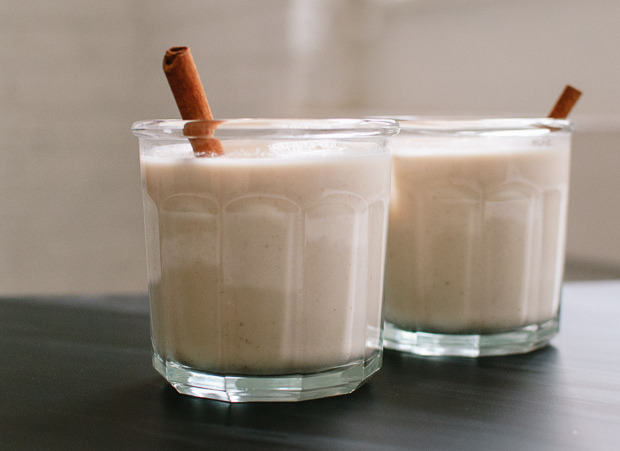 food52:  Have you met horchata? It's a creamy, nutty, and completely refreshing drink, that pairs quite well with rum. We're sharing how to make your own! Read more: Homemade Horchata on Food52