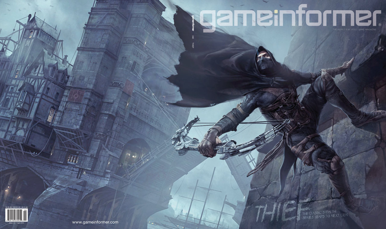 kilabytes:  Say hello to gameinformers April cover Finally some Thief 4 loving.