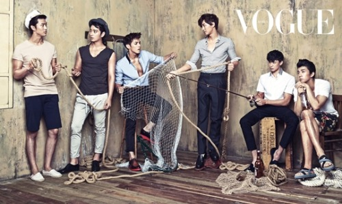 onedayislove:  2PM for VOGUE Korea, June 2013.