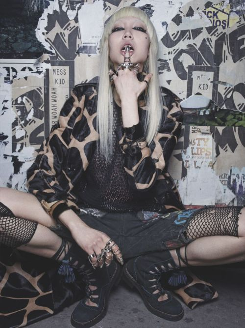 koreanmodel:  Soo Joo by Robbie Fimmano for Interview May 2013