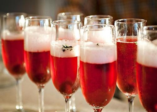 Drink my champange