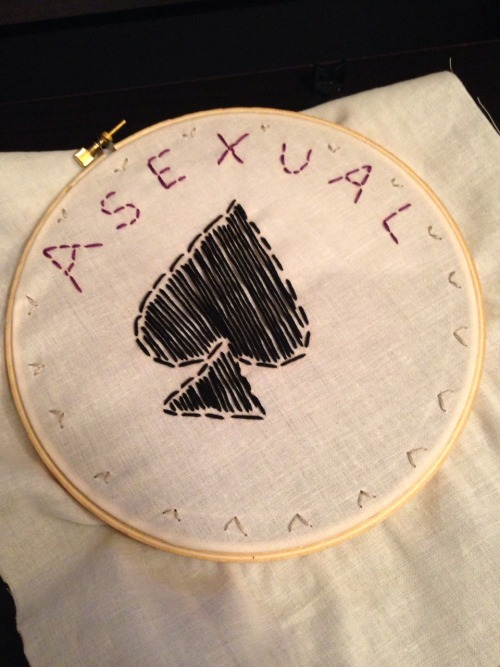 Asexual embroidery!