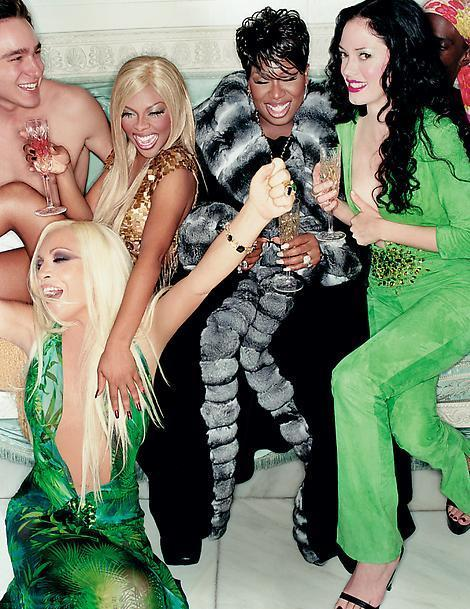 xvzvx:  sweetladyjames:  i wanna be at this party so bad  That Versace dress doe
