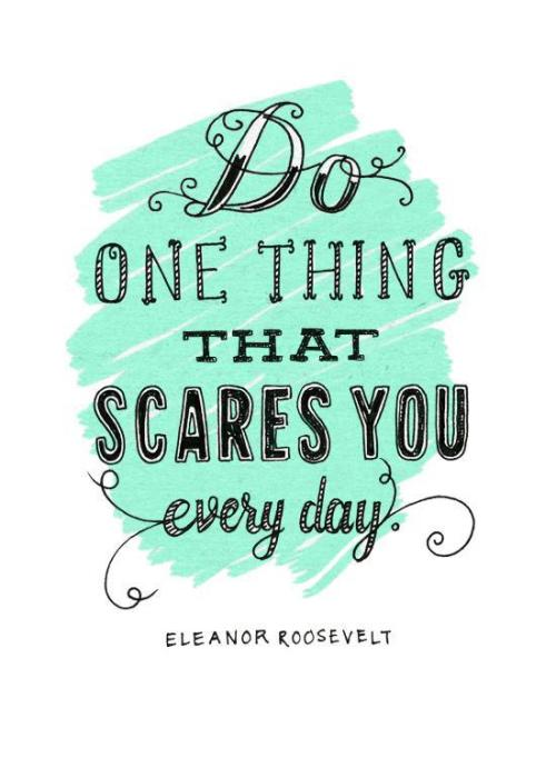 safercampus:  Great quote from Eleanor Roosevelt!