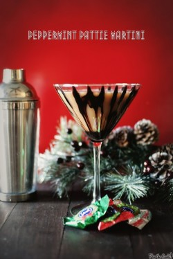 Peppermint Pattie Martini