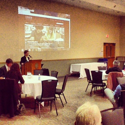 Kicking off the NY6 Symposium #liberalarts #symposium (at College Park)