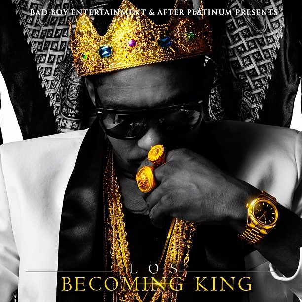 Los - Becoming King - Mixtape Cover Art - Los